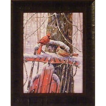 Kim NORLIEN cardinal Print COUNTRY MUSIC