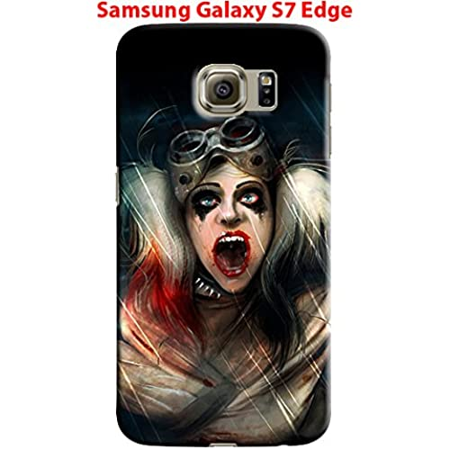 Harley Quinn for Samsung Galaxy S7 Edge Hard Case Cover (harl14) Sales