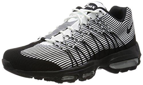 Nike Air Max '95 Herren Laufschuhe Weiß / Schwarz-metallic Silber