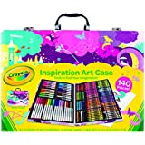 Crayola Inspiration Art Case - Pink, 140 Piece Art Set, Gifts for Kids and Adults