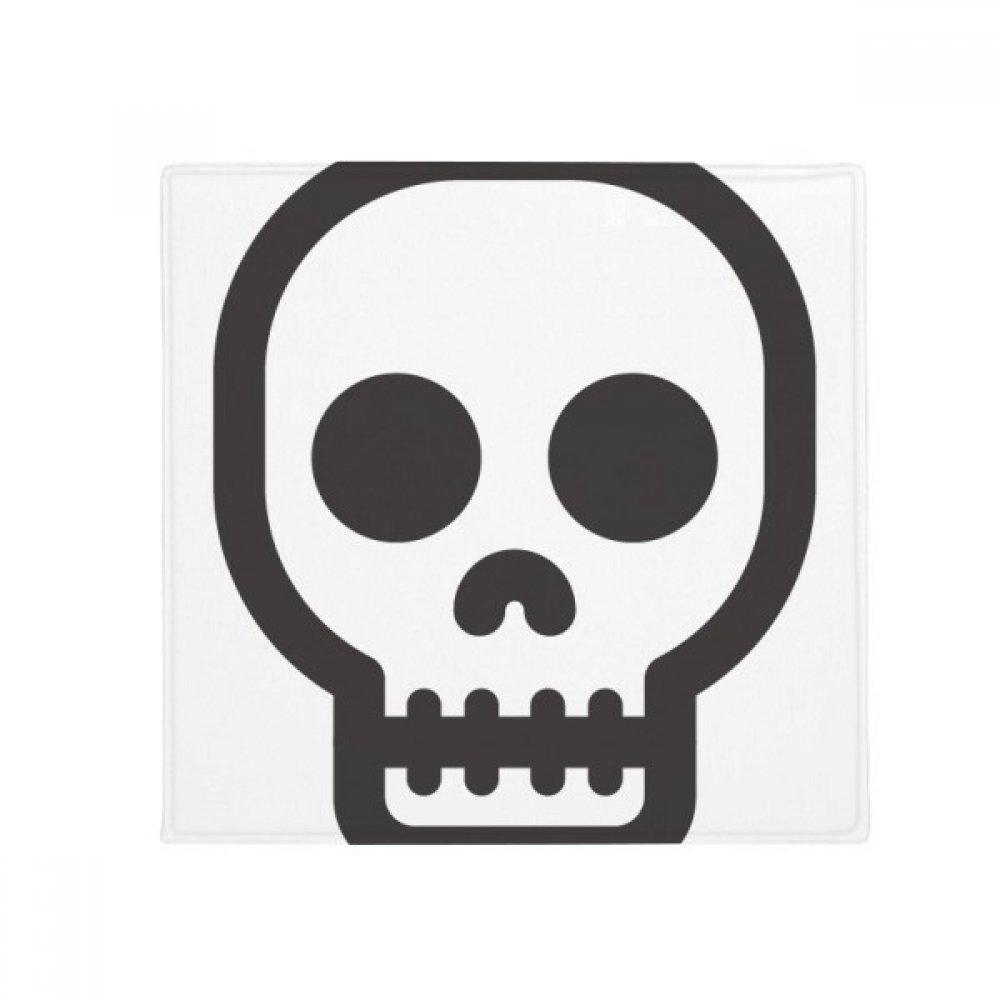DIYthinker Shut Up Skeleton Online Emoji Anti-Slip Floor Pet Mat Square Home Kitchen Door 80Cm Gift
