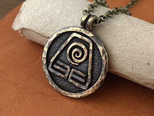- Avatar Last Airbender Jewelry Earth Element Necklace Pendant
