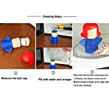 Keledz Microwave Cleaner Angry Mom with Fridge Odor Absorber Cool