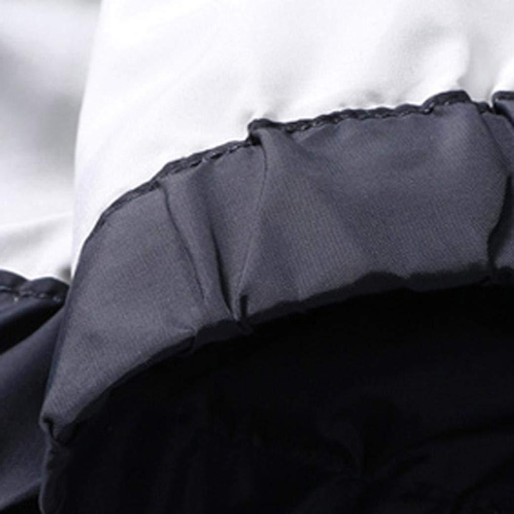 GREFER Mens Casual Jacket Outdoor Sportswear Windbreaker Lightweight Bomber Coat T Shirt by GREFER (Image #4)