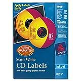 Avery LABEL, CD/DVD, IJ