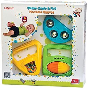 Amazon.com: Edushape Shake, Jingle & Roll Música, 3 piezas: Baby