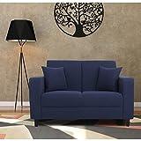 Furny Eleana Two Seater Sofa (Blue)