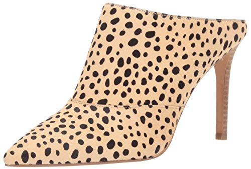 Dolce Vita Women's CINDA Mule, Leopard Calf Hair, 8 M US Dolce Vita Leather Pumps