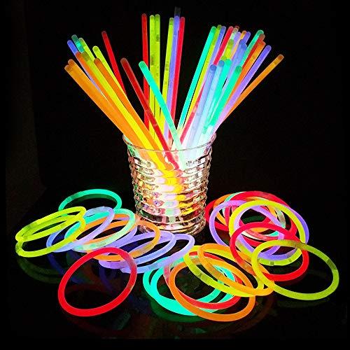Black Friday Deal Glow Sticks Bulk Party Favors 100pk - 8