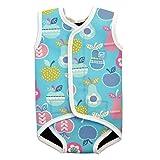 Splash About Baby Wrap Neoprene Wetsuit - Tutti Frutti, Small, 0-6 Months by Splash About