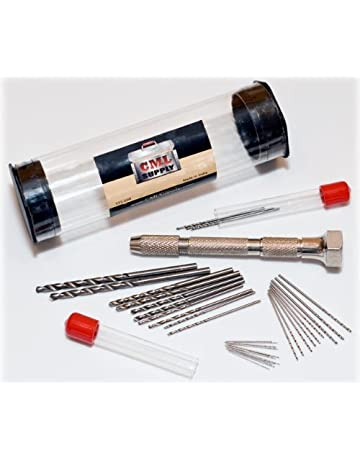 5pc 2.5mm Tip Diamond Burr Engraving Dremel Rotary Drill Bit Set Hole Saw Tool