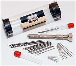 CML Supply Mini Micro Drill Bit Set and ...