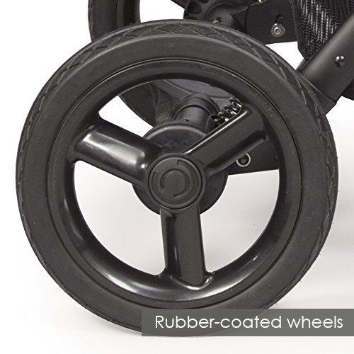 Contours Options Elite Tandem Double Stroller, Carbon by Contours (Image #7)