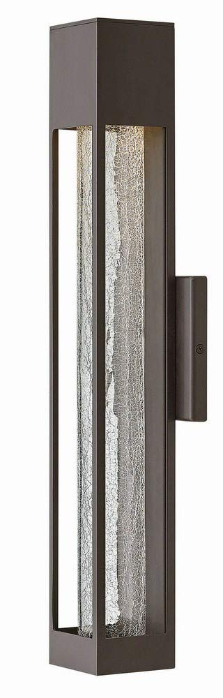 Hinkley 2854BZ Contemporary Modern One Light Outdoor Wall Mount from Vapor collection in Bronze/Darkfinish,