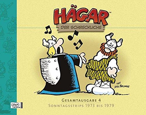 Hägar der Schreckliche Gesamtausgabe 04: Sonntagsstrips 1973 bis 1979 Gebundenes Buch – 18. August 2008 Dik Browne Michael Bregel Egmont Comic Collection 3770431502