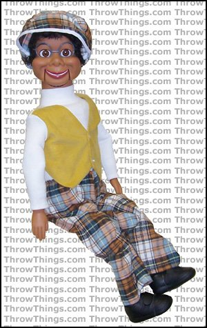 Lester Deluxe Upgrade Ventriloquist Dummy by ThrowThings.com (Image #1)