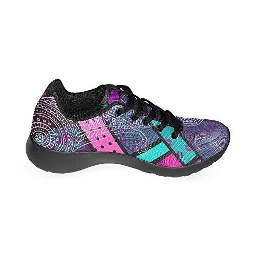 Scarpa Da Jogging Leggera Da Donna Running Running Leggera Easy Go Walking Comfort Sportivo Scarpe Da Ginnastica Multi 3