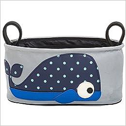 Zegui - Bolsa organizadora para carrito infantil, diseño de ballena: Amazon.es: Libros