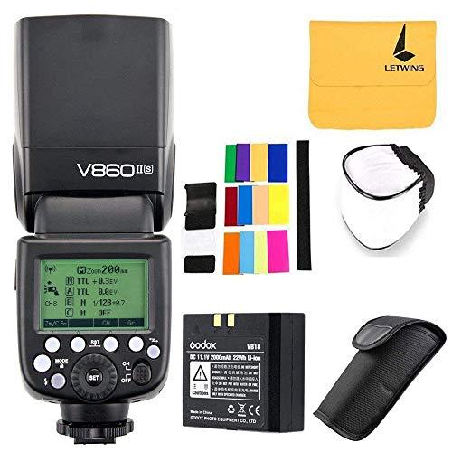 Godox V860II-S HSS 2.4G Built-in Battery Camera Flash Speedl
