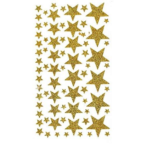 Artemio –  Adesivi Etoiles, Carta, Oro, 14 x 0,2 x 28 cm 14x 0 2x 28cm 11004501