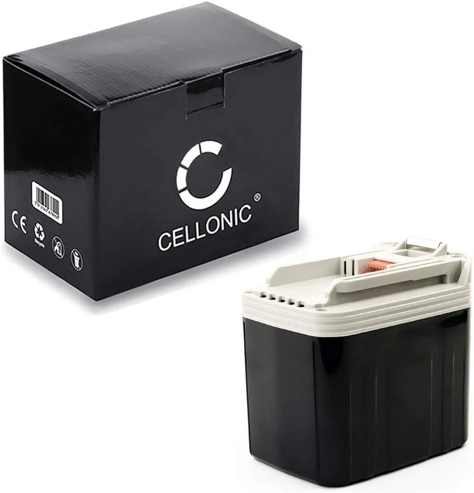 CELLONIC® Batería Premium (24V, 3.3Ah, NiMH) Compatible con Makita BDF460 /BHP460 /BHR200 /BJR240 /BLS820 /BML240 /BSR730 /BTD200 - BH2420,BH2433,B2417 Pila reemplazo Herramienta, sustitución