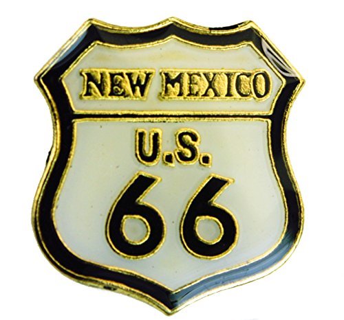 - New Mexico Route 66 Will Rogers Highway hat or lapel pin AK904