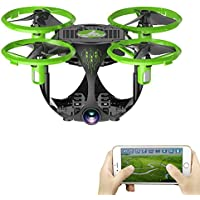 QWinOut FQ777 FQ26 Miracle 0.3MP Camera WiFi FPV Mini Selfie Drones Altitude Hold Foldable RC Quadcopter APP Control RTF