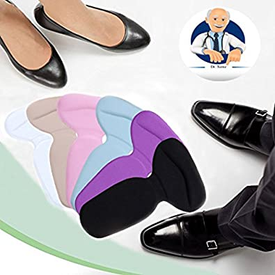 Comfort Insert Heels Protector Anti Slip Cushion Pads Heel Liners Shoes Insoles