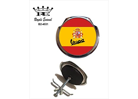 ROYALE - Parrilla para coche con diseño de esmalte royale – VESPASPAIN B2. 4031