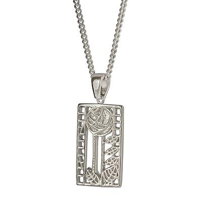Cairn 401 Silver Rennie Mackintosh Pendant -