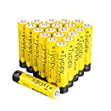Tycipy 20 Pack 1.2V 1000mAh Rechargeable Ni-MH AAA Btteries