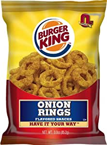Amazon.com: Burger King Onion Rings, 3-Ounce (Pack of 10)