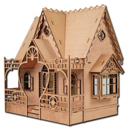 Greenleaf Dollhouses Laser Cut Diana Dollhouse Kit