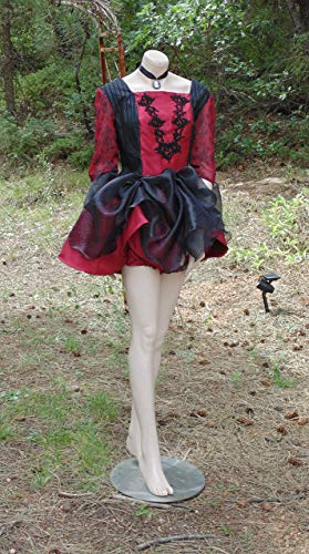 Womens Halloween Vampire in Size Med-Large With Bloomers and Cameo included! -