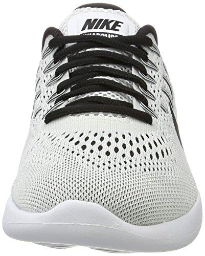 Nike Wmns Lunarglide 8, Zapatos para Correr para Mujer Blanco (White/black)