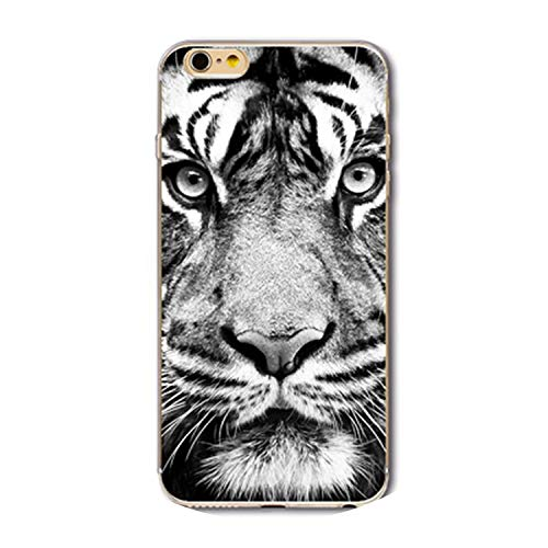 Colorful Animal Phone Case for iPhone 6 6S 5 5S Se 7 7Plus 8 8Plus Soft TPU Protective Phone Cover Shell,4,for iPhone 7 8