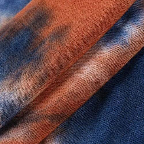 Manteau Mousseline Irrgulier Floral Imprim Femmes Soie Manche Mode Loose Chemisier Longra Tops Tops Gilet Veste Tank Bleu Ourlet Casual de Cardigan Chemise Kimono Tunique Longue Blouse wZqxXn76xO