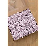 Lings-moment-Artificial-Flowers-25pcs-Lilac-Gardenias-Flowers-wStem-for-DIY-Wedding-Bouquets-Centerpieces-Arrangements-Party-Baby-Shower-Home-Decorations