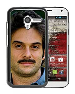 Beautiful Designed Cover Case With Daniele Luppi Face Mustache Look Shirt For Motorola Moto X Phone Case