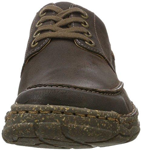 Josef Seibel Smu-kongo - Zapatos Derby Hombre Marrón (Espresso)