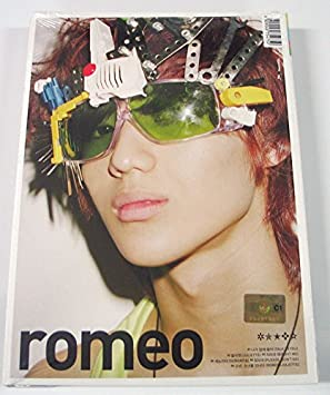 SHINee - Romeo (2nd Mini Album) [TAEMIN ver ] CD + Photo Booklet + Extra  Gift Photocards Set