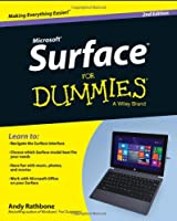 Surface For Dummies, 2nd Edition Front Cover