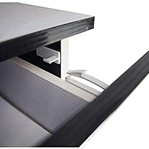 Child Safety Locks, Baby Proofing Drawers Locks, Coolrunner Baby Safety Invisible Drawer Latches with Strong Adhesive for Baby Care - No Tools or Drilling Required