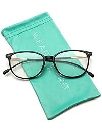 Elegant Classic Thin Frame Women Cat Eye Prescription...
