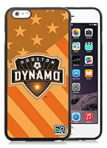 Houston Dynamo 01 Black Individual Custom iPhone 6plus 5.5 Inch TPU Case