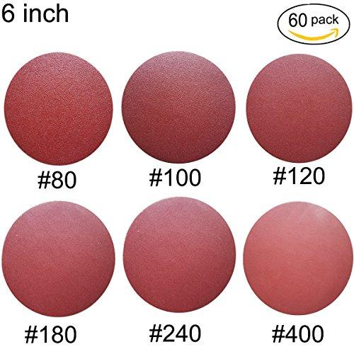 10 best sanding discs 6 inch 60 grit