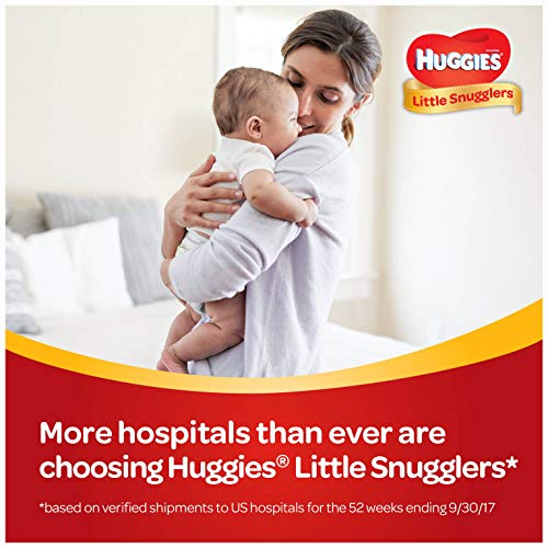 Large Product Image of HUGGIES Little Snugglers Baby Diapers, Size 1, 216 Count, ECONOMY PLUS (Packaging may Vary)