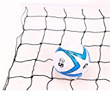 TUYU 7.1M/23.3ft Volleyball Net Heavy Duty Waxed Rope+Canvas+Wire Rope Durable and Waterproof for Indoor/Outdoor/Garden/Schoolyard/Backyard/Beach Volleyball Water Sports PQ0001