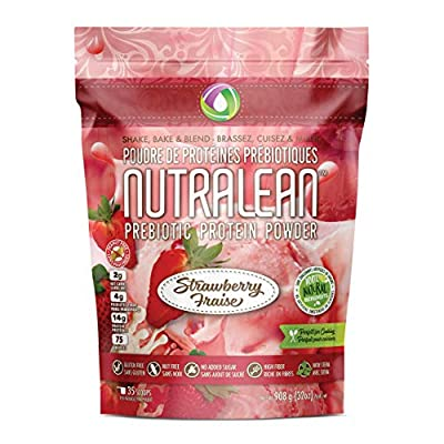 NUTRALEAN PREBIOTIC Protein Powder - 100% All Natural | NO Artificial Sweeteners or Flavours | Gluten-Free | Peanut & Nut Free