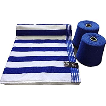 Buy Swimming Pool Towel 600 GSM Terry Cotton 1 Piece Bath ...